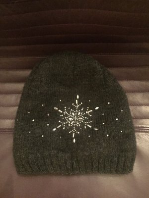 Extra warme Mütze mit Sternmotiv