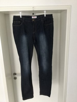 John Baner Jeans a gamba dritta blu scuro Cotone