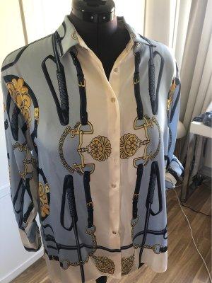Extravagante Bluse mit Muster