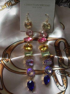 Extravagante Christian Siriano Ohrringe chandeliers Hänger