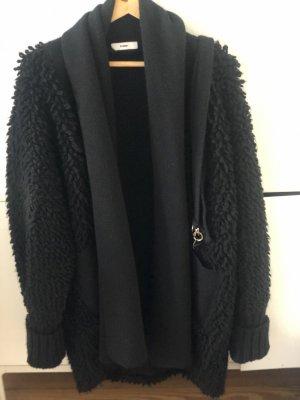 Diesel Oversized jas zwart