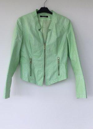 extravagante grüne Jacke von Betty Barclay - Größe 36