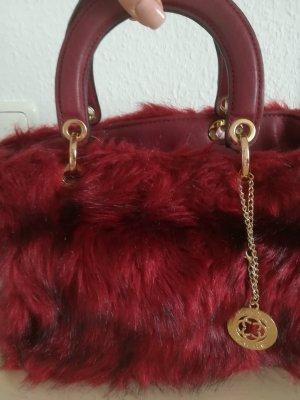 Chantal Thomass Handbag black-brick red