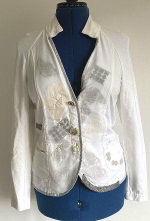 Bottega Shirt Jacket white cotton