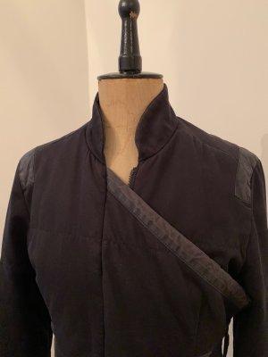 Veste mi-saison noir coton