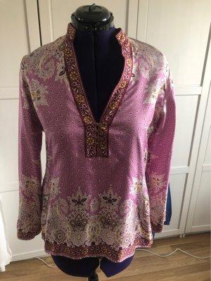 Brigitte von Boch Zijden blouse veelkleurig Zijde