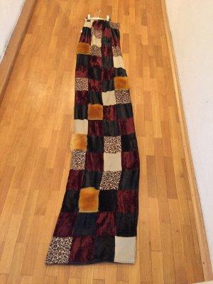Unikat Châle au tricot multicolore