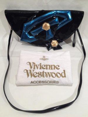 Extravagante Vivienne Westwood Lackleder Handtasche Ufo