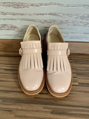 AGL Monks nude-pink leather