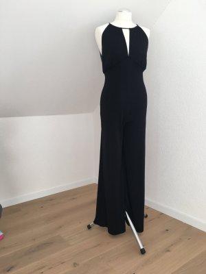 Extravaganter Jumpsuit (Abendkleid) schwarz