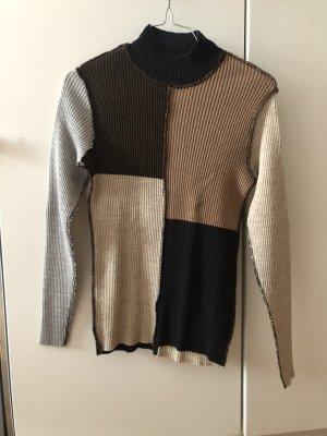 Kookai Maglione di lana multicolore Lana