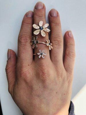 extravaganter Ring in Roségold von Vivian Ray