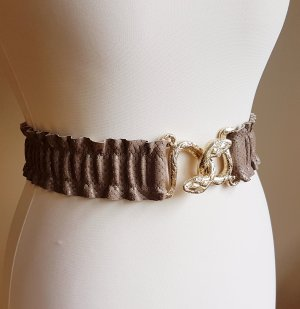 Made in Italy Leather Belt multicolored leather