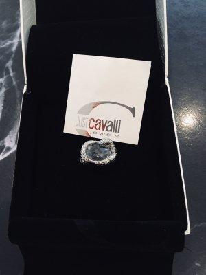 Extravaganter Silberring von Just Cavalli
