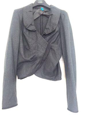 Toni Gard Short Blazer anthracite wool
