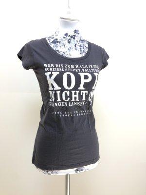 Extravagantes, Aufsehen erregendes LOOK54 T-Shirt - Hauptstadtrocker XS 34 NP89€