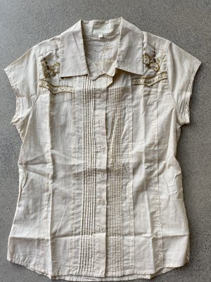Short Sleeve Shirt beige-cream