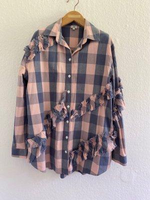 River Island Camisa de manga larga multicolor Algodón