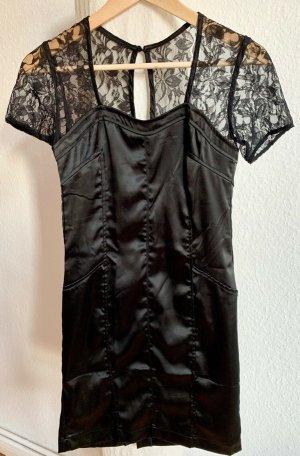 Ann Christine Robe de soirée noir polyester