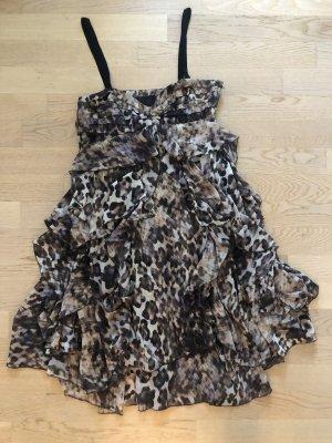 H&M Vestido estilo flounce multicolor Poliéster