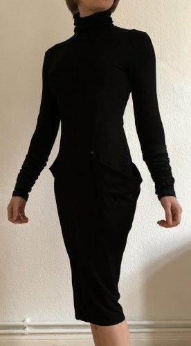 """extravagantes schwarzes Kleid """"LUNE NOIRE"""" aus der ersten Kollektion von Cop Copine 2008 Gr. M (38)"""