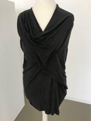 Zara Camisa con cuello caído multicolor Viscosa