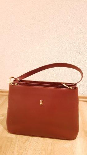 Extrem elegante Braun Designer-Handtasche aus reinem Leder