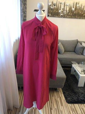 extrem lange bluse / maxikleid in pink (tesettür)