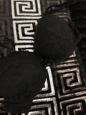 extrem push up bh in schwarz aus spitze, 85 C