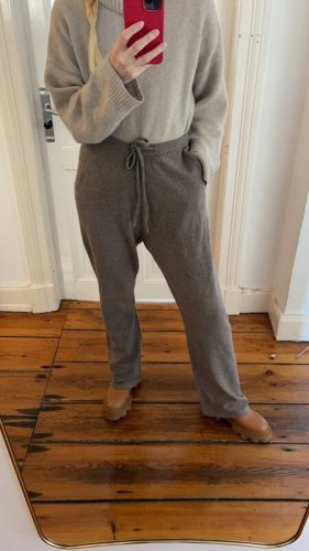 extreme cashmere Sweat Pants grey brown-light brown cashmere