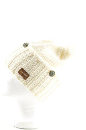 exxtasy Szlafmyca w kolorze białej wełny W stylu casual