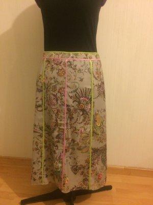 Basler Jupe mi-longue multicolore