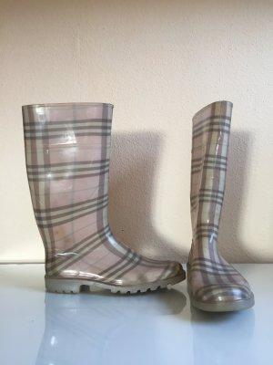 Wellies white-rose-gold-coloured
