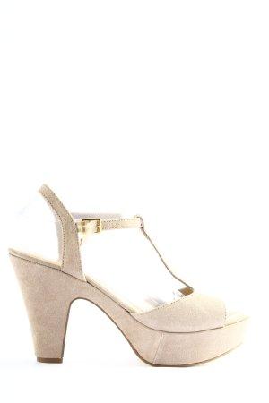 Eye High Heel Sandaletten creme Business-Look