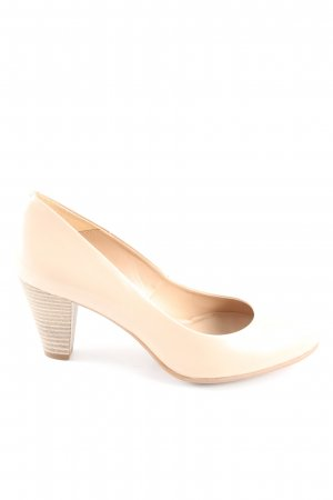 Eye Keil-Pumps creme Business-Look
