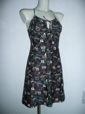 Eyecatcher Comic Kleid Trägerkleid gemustert Gr 36