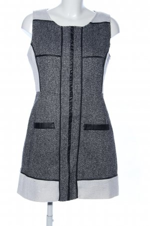 Eyedoll Woolen Dress light grey-white flecked casual look