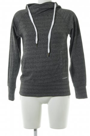 Ezekiel Kapuzensweatshirt grau-dunkelgrau meliert Casual-Look
