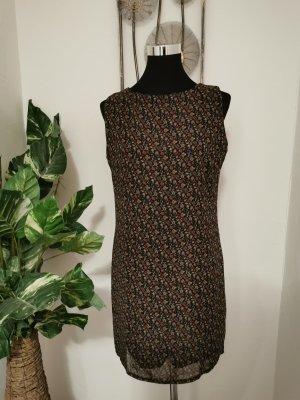 F&e Italy Damen Chiffonkleid Minikleid gemustert Cocktailkleid Größe 38