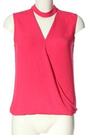 F&F ärmellose Bluse pink Casual-Look