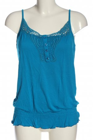 F&F Camisole blauw casual uitstraling