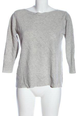 F&F Sudadera de cachemir gris claro moteado look casual