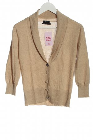 F&F Cashmerepullover creme meliert Casual-Look