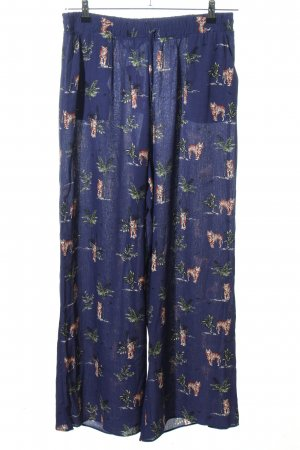 F&F Harem Pants animal pattern casual look