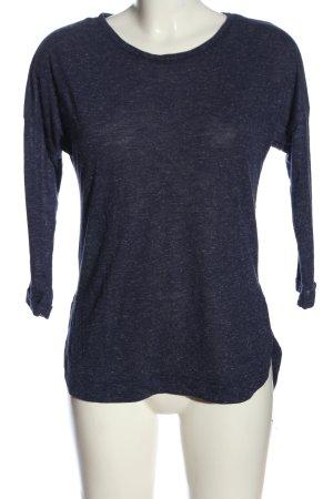 F&F Langarm-Bluse blau meliert Casual-Look