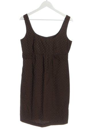 F&F Minikleid bronzefarben Allover-Druck Elegant