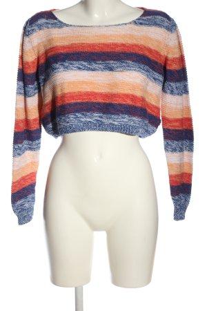 F&F Warkoczowy sweter Wzór w paski W stylu casual