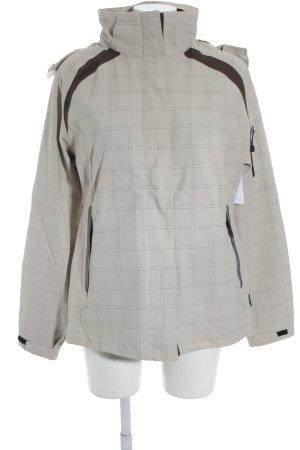 F.lli campagnolo cmp Outdoor Jacket grey brown-cream check pattern