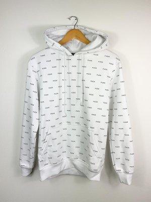 FSBN Sweatshirt met capuchon wit-zwart