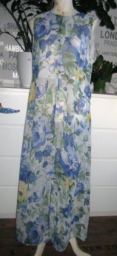 Gabriela Sabatini Flounce Dress yellow-neon blue